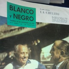 Collectionnisme de Magazine Blanco y Negro: REVISTA BLANCO Y NEGRO Nº 2482 - 1959 LA CHELITO Y SU ÉPOCA; PERLAS CULTIVADAS; JOHANNESBURGO. Lote 233856905