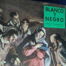 Coleccionismo de Revista Blanco y Negro: REVISTA BLANCO Y NEGRO Nº 2433- 20 DE DICIEMBRE 1958.. Lote 233859030