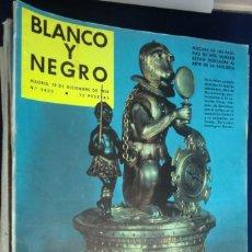 Coleccionismo de Revista Blanco y Negro: REVISTA BLANCO Y NEGRO Nº 2433- DICIEMBRE 1958. ARTE DE LA RELOJERÍA. Lote 233859195