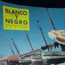Coleccionismo de Revista Blanco y Negro: REVISTA BLANCO Y NEGRO Nº 2416- 9 DE AGOSTO 1958.. Lote 233859705