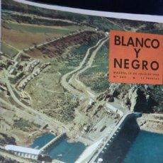 Coleccionismo de Revista Blanco y Negro: REVISTA BLANCO Y NEGRO Nº 2411- 19 DE JULIO 1958 PRESA DEL CÍJARA.. Lote 233859980