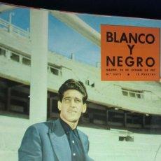 Collectionnisme de Magazine Blanco y Negro: REVISTA BLANCO Y NEGRO Nº 2373 OCTUBRE 1957. ENTREVISTA CON DOMINGUEZ. Lote 233861205