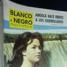 Collectionnisme de Magazine Blanco y Negro: REVISTA BLANCO Y NEGRO Nº 2686 - 1963 ANGOLA HACE FRENTE A LOS GUERRILLEROS. Lote 233865270
