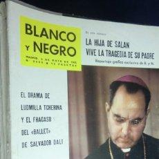 Collectionnisme de Magazine Blanco y Negro: REVISTA BLANCO Y NEGRO Nº 2609 - 1962 DRAMA DE LUDMILLA TCHERINA Y EL FRACASO DEL BALLET DE DALI. Lote 233865440
