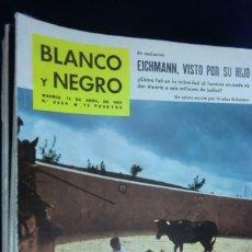 Collectionnisme de Magazine Blanco y Negro: REVISTA BLANCO Y NEGRO Nº 2554 - 1961 EICHMANN, VISTO POR SU HIJO. Lote 233867045