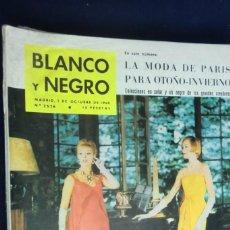 Collectionnisme de Magazine Blanco y Negro: REVISTA BLANCO Y NEGRO Nº 2526- 1 DE OCTUBRE DE1960. MODA DE PARÍS OTOÑO-INVIERNO. Lote 233868695