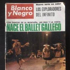 Coleccionismo de Revista Blanco y Negro: REVISTA BLANCO Y NEGRO Nº 2812 DEL 26 DE MARZO DE 1966. Lote 235814280