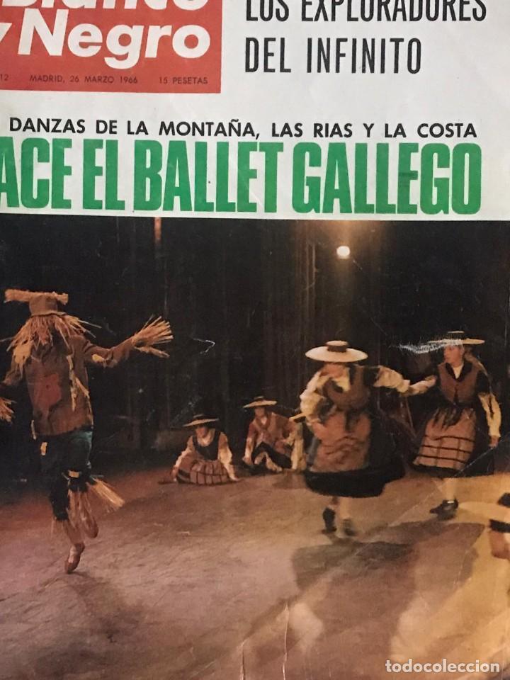 Coleccionismo de Revista Blanco y Negro: REVISTA BLANCO Y NEGRO Nº 2812 DEL 26 DE MARZO DE 1966 - Foto 4 - 235814280