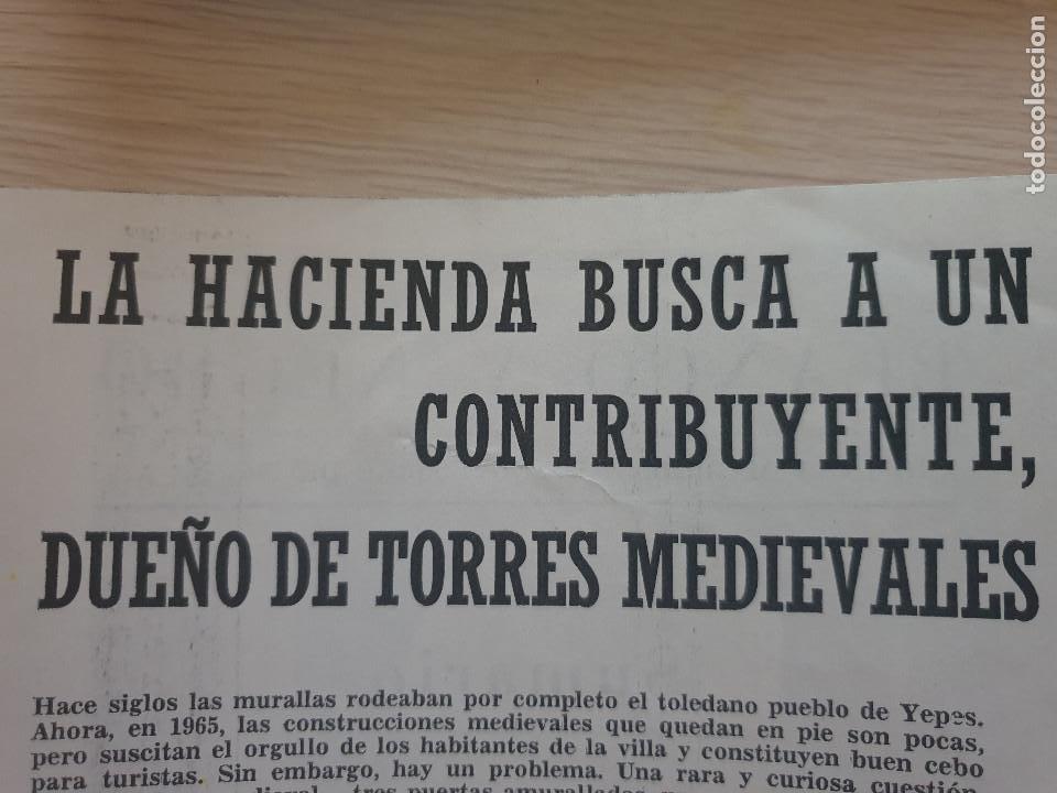 Coleccionismo de Revista Blanco y Negro: BLANCO Y NEGRO REVISTA Nº 2695 MADRID, 27 DE NOVIEMBRE 1965_ESPAÑA EN PUERTO RICO. DRAMA EN CARIBE. - Foto 5 - 237634870