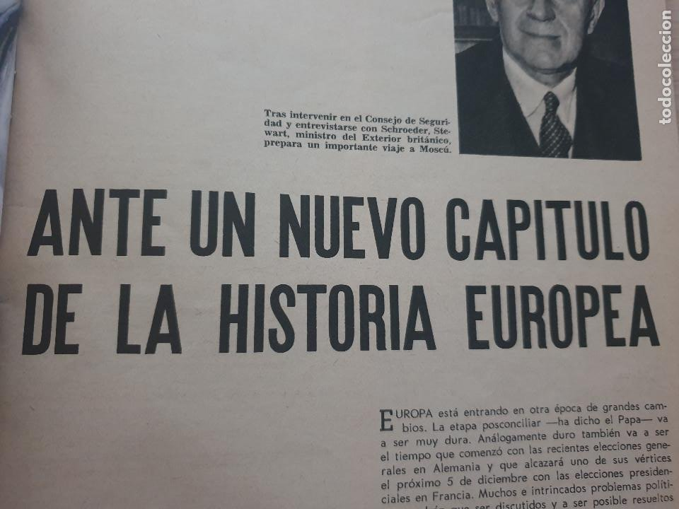 Coleccionismo de Revista Blanco y Negro: BLANCO Y NEGRO REVISTA Nº 2695 MADRID, 27 DE NOVIEMBRE 1965_ESPAÑA EN PUERTO RICO. DRAMA EN CARIBE. - Foto 6 - 237634870