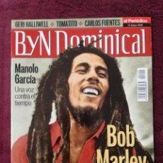 Coleccionismo de Revista Blanco y Negro: BYN DOMINICAL MAYO 2001 BOB MARLEY MANOLO GARCIA. Lote 240251330