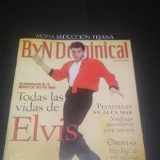 Coleccionismo de Revista Blanco y Negro: 25 ANIVERSARIO MUERTE DE EVIS PRESLEY BLANCO Y NEGRO - DOMINICAL 2002 PDELUXE. Lote 242403145