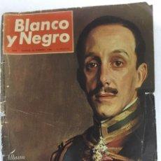Coleccionismo de Revista Blanco y Negro: REVISTA BLANCO Y NEGRO. AÑO 1966. NUMERO 2808. 25 ANIVERSARIO DE LA MUERTE DE ALFONSO XIII. Lote 243526085