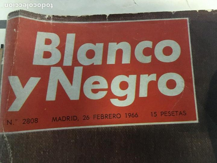 Coleccionismo de Revista Blanco y Negro: REVISTA BLANCO Y NEGRO. AÑO 1966. NUMERO 2808. 25 ANIVERSARIO DE LA MUERTE DE ALFONSO XIII - Foto 2 - 243526085