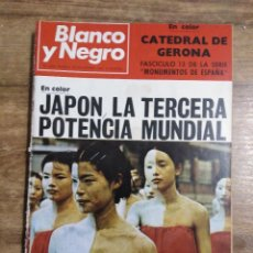 Coleccionismo de Revista Blanco y Negro: MFF.- REVISTA BLANCO Y NEGRO.- Nº 2952 DE 30 NOVIEMBRE 1968.- MONUMENTOS DE ESPAÑA. CATEDRAL DE. Lote 243656235