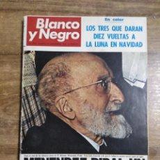 Coleccionismo de Revista Blanco y Negro: MFF.- REVISTA BLANCO Y NEGRO.- Nº 2951 DE 23 NOVIEMBRE 1968.- ESTOCOLMO, FASCICULO EN COLOR DE LAS. Lote 243657415