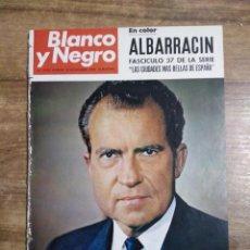 Coleccionismo de Revista Blanco y Negro: MFF.- REVISTA BLANCO Y NEGRO.- Nº 2950 DE 16 NOVIEMBRE 1968.- ALBARRACIN. FASCICULO EN COLOR DE. Lote 243659990