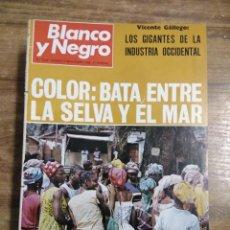 Coleccionismo de Revista Blanco y Negro: MFF.- REVISTA BLANCO Y NEGRO.- Nº 2949 DE 9 NOVIEMBRE 1968.- EN DIRECTO, DESDE LA NAVE APOLO 7.. Lote 243661245