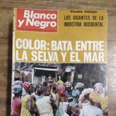 Coleccionismo de Revista Blanco y Negro: MFF.- REVISTA BLANCO Y NEGRO.- Nº 2949 DE 9 NOVIEMBRE 1968.- EL LABERINTO DE HORTA. PARQUES Y. Lote 243896155