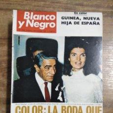 Coleccionismo de Revista Blanco y Negro: MFF.- REVISTA BLANCO Y NEGRO.- Nº 2948 DE 2 NOVIEMBRE 1968.- SCORPIOS: UN FIN Y UN PRINCIPIO.. Lote 243899635