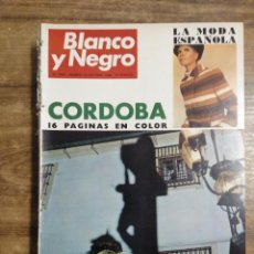 Coleccionismo de Revista Blanco y Negro: MFF.- REVISTA BLANCO Y NEGRO.- Nº 2947 DE 26 OCTUBRE 1968.- LA LUNA YA ESTA MAS CERCA. REPORTAJE EN. Lote 243901540