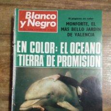 Coleccionismo de Revista Blanco y Negro: MFF.- REVISTA BLANCO Y NEGRO.- Nº 2946 DE 19 OCTUBRE 1968.- LA CIBELES ESTRENA LUZ, AGUA Y COLORES.. Lote 243902990