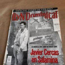 Coleccionismo de Revista Blanco y Negro: REVISTA 2002 - SOLDADOS DE SALAMINA - JAVIER CERCAS - ENRIQUE BUNBURY. Lote 244870715