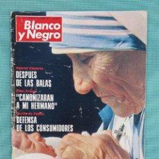 Coleccionismo de Revista Blanco y Negro: REVISTA BLANCO Y NEGRO 1979 - TERESA DE CALCUTA. Lote 245445565