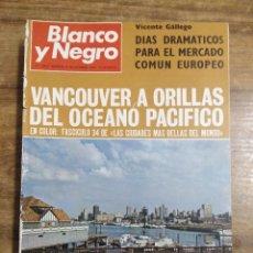 Coleccionismo de Revista Blanco y Negro: MFF.- REVISTA BLANCO Y NEGRO.- Nº 3001 DE 8 NOVIEMBRE 1969.-EL TREN DEL FUTURO ES YA UNA REALIDAD.. Lote 245479150