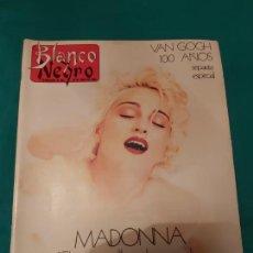 Coleccionismo de Revista Blanco y Negro: REVISTA BLANCO Y NEGRO MADONNA 1990. Lote 245490030