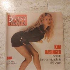 Coleccionismo de Revista Blanco y Negro: REVISTA BLANCO Y NEGRO KIM BASINGER 1990. Lote 245723720