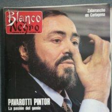 Coleccionismo de Revista Blanco y Negro: BLANCO Y NEGRO 3714 1990 PAVAROTTI, LUZ CASAL, ORTEGA CANO, BLANCA FERNANDEZ OCHOA, EVARISTO GUERRA. Lote 245657050