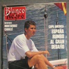 Coleccionismo de Revista Blanco y Negro: BLANCO Y NEGRO 3710 1990 MONTSERRAT CABALLÉ, LETICIA SABATER, PALOMA RODRÍGUEZ, JAMES DEAN.. Lote 245699150