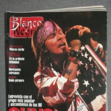 Coleccionismo de Revista Blanco y Negro: BLANCO Y NEGRO 3809 1992. BELEN RUEDA, MICHELLE PFEIFFER, MARIANO JIMÉNEZ, GUNS N´ROSES, KRAUS.. Lote 245708290