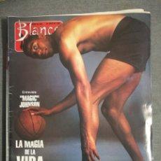 Coleccionismo de Revista Blanco y Negro: BLANCO Y NEGRO 3813 1992 MARAGALL, PENÉLOPE CRUZ, JESÚS VÁZQUEZ, PORSCHE 928 GTS. MAGIC JOHNSON. Lote 245709035