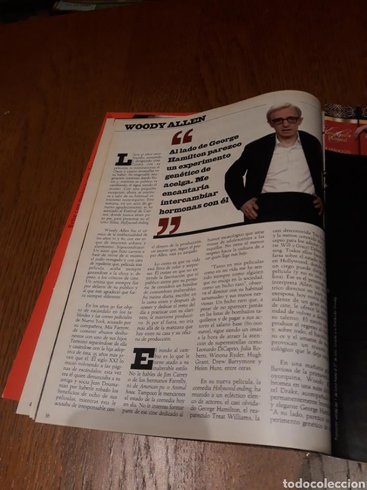 Coleccionismo de Revista Blanco y Negro: REVISTA 2002 . WOODY ALLEN - VICENTE FERRER - MUNDIAL DE FUTBOL 2002. EL FUTBOL DE OTROS MUNDOS - Foto 4 - 246088270
