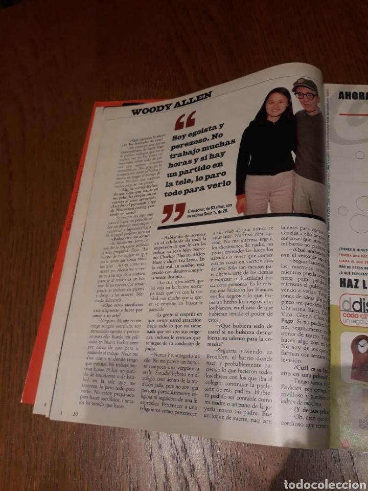 Coleccionismo de Revista Blanco y Negro: REVISTA 2002 . WOODY ALLEN - VICENTE FERRER - MUNDIAL DE FUTBOL 2002. EL FUTBOL DE OTROS MUNDOS - Foto 6 - 246088270