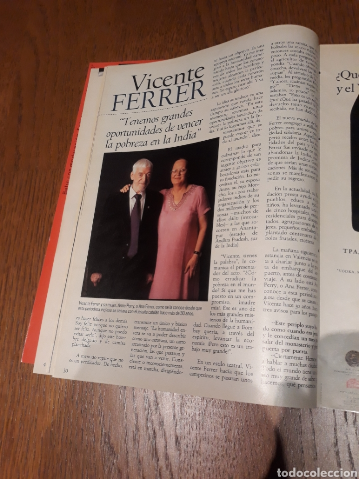 Coleccionismo de Revista Blanco y Negro: REVISTA 2002 . WOODY ALLEN - VICENTE FERRER - MUNDIAL DE FUTBOL 2002. EL FUTBOL DE OTROS MUNDOS - Foto 8 - 246088270