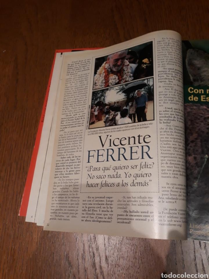Coleccionismo de Revista Blanco y Negro: REVISTA 2002 . WOODY ALLEN - VICENTE FERRER - MUNDIAL DE FUTBOL 2002. EL FUTBOL DE OTROS MUNDOS - Foto 9 - 246088270