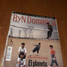Coleccionismo de Revista Blanco y Negro: REVISTA 2002 . WOODY ALLEN - VICENTE FERRER - MUNDIAL DE FUTBOL 2002. EL FUTBOL DE OTROS MUNDOS. Lote 246088270