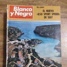 Coleccionismo de Revista Blanco y Negro: MFF.- REVISTA BLANCO Y NEGRO.- Nº 2992 DE 6 SEPTIEMBRE 1969.- RETRATO DE UN DON QUIJOTE SUECO: EL. Lote 246326765