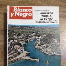 Coleccionismo de Revista Blanco y Negro: MFF.- REVISTA BLANCO Y NEGRO.- Nº 2990 DE 23 AGOSTO 1969.- SEMANA GRANDE: UNA CORRIDA MEMORABLE.. Lote 246330530