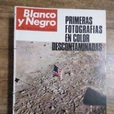 Coleccionismo de Revista Blanco y Negro: MFF.- REVISTA BLANCO Y NEGRO.- Nº 2988 DE 9 AGOSTO 1969.- LA LUNA: DIA UNO, AÑO UNO. REPORTAJE EN. Lote 246333460