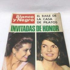 Coleccionismo de Revista Blanco y Negro: BLANCO Y NEGRO 2816, ABRIL 1966. LA PLAZA DE LAS GLORÍAS - SOFÍA LOREN - CERÁMICA ESPAÑOLA. Lote 246657090