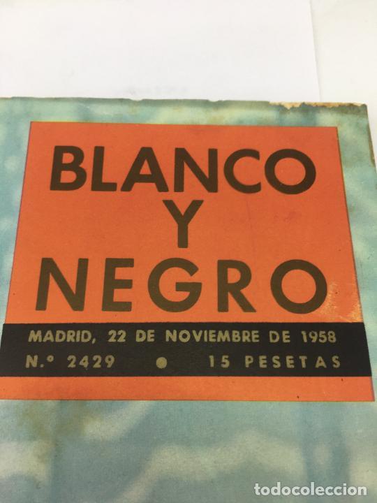 Coleccionismo de Revista Blanco y Negro: REVISTA BLANCO Y NEGRO Nº 2429 1958, CARMEN SEVILLA, ARTE Y ALEGRIA - Foto 2 - 246662525