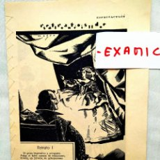 Coleccionismo de Revista Blanco y Negro: CUADERNILLO POÉTICO SOBRE SEIS GRANDES MUJERES DEL TEATRO ESPAÑOL. Lote 247553230