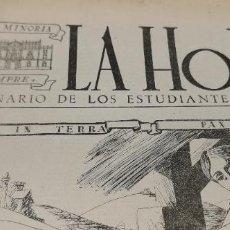 Coleccionismo de Revista Blanco y Negro: LA HORA SEMANARIO DE LOS ESTUDIANTES ESPAÑOLES Nº8 DICIEMBRE DE 1948 VARIOS ARTICULOS ,TRAGACETE,ETC. Lote 248306735