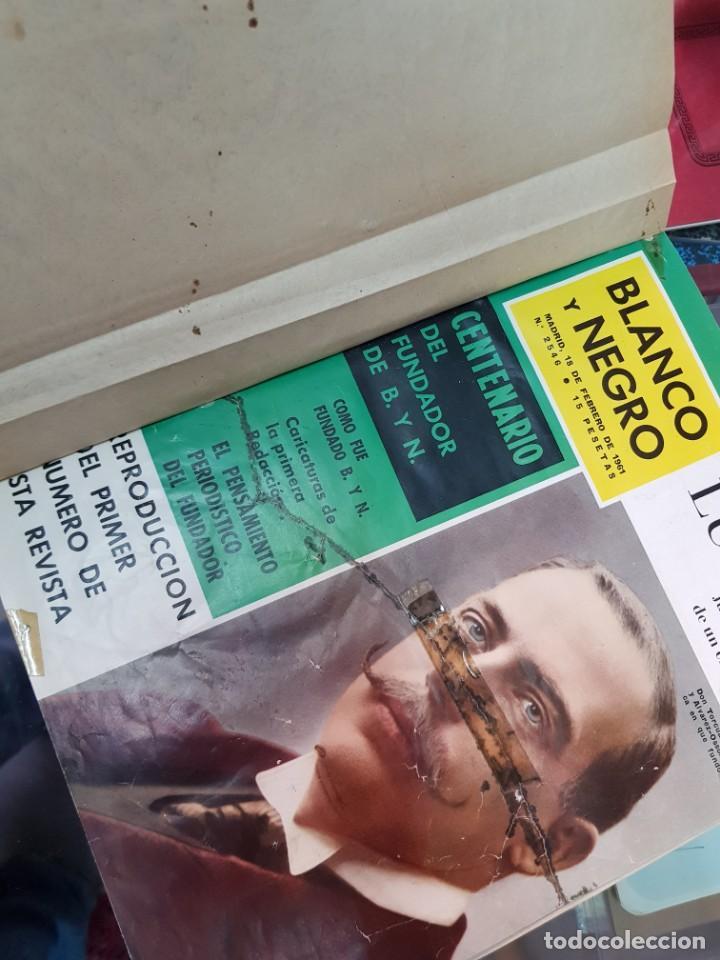 Coleccionismo de Revista Blanco y Negro: ANTIGUAS REVISTAS BLANCO Y NEGRO AÑOS 60 - Foto 3 - 250167300