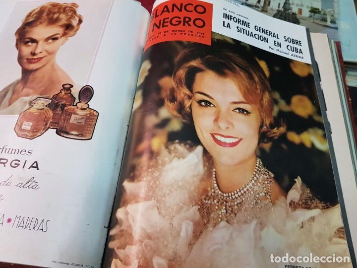 Coleccionismo de Revista Blanco y Negro: ANTIGUAS REVISTAS BLANCO Y NEGRO AÑOS 60 - Foto 8 - 250167300