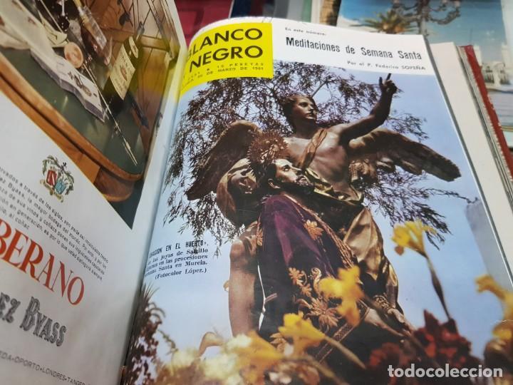 Coleccionismo de Revista Blanco y Negro: ANTIGUAS REVISTAS BLANCO Y NEGRO AÑOS 60 - Foto 10 - 250167300